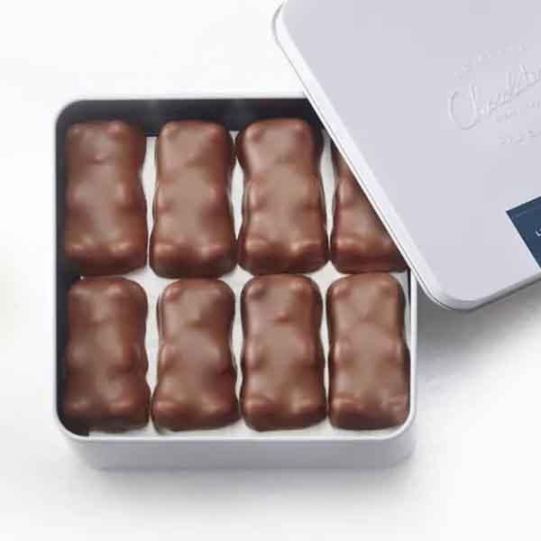 巴黎网红棉花糖-小熊巧克力棉花糖