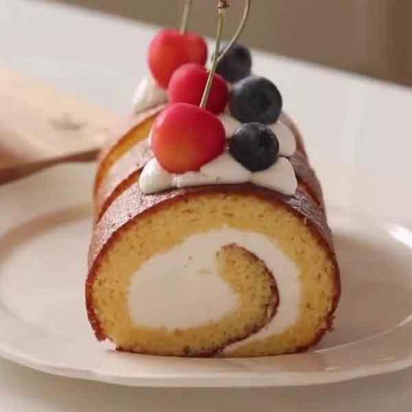 经典日式酸奶瑞士卷