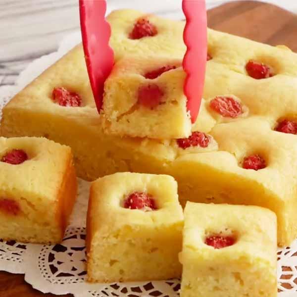 草莓白巧布朗尼 日本80万粉丝博主本季力荐