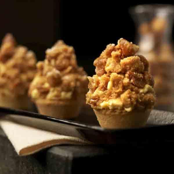 基础配方系列之酥粒2种和焦糖爆米花3种口味